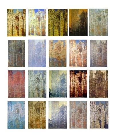Claude Monet - Série des Cathédrales de Rouen