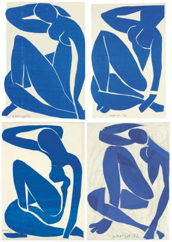 Henri Matisse - Série des Nus Bleus
