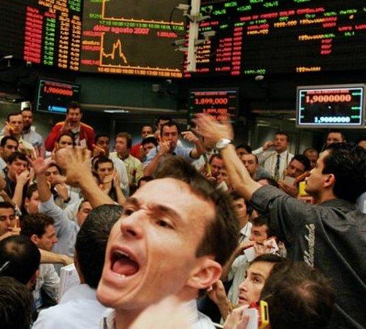 Caída de las Bolsas Mundiales.