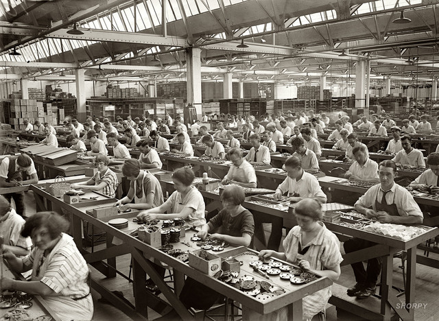 Workers of The First Phase of Industrialization