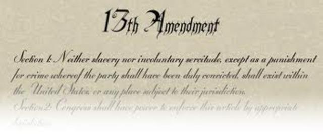13TH AMENDEMENT
