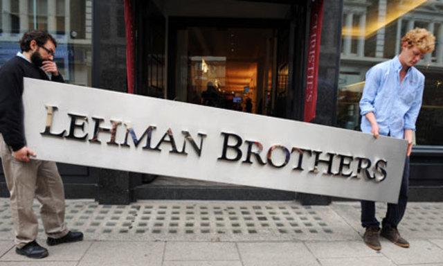 Lehman se declara en quiebra.