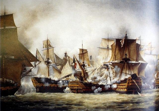 Batalla de Trafalgar.
