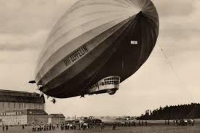 Primeiro vôo de um Zeppelin