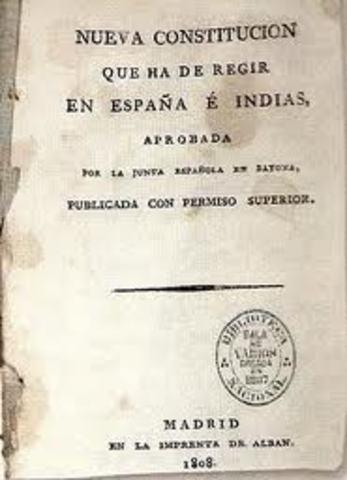 Constitución de Bayona.