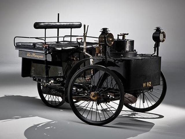 O primeiro carro do mundo