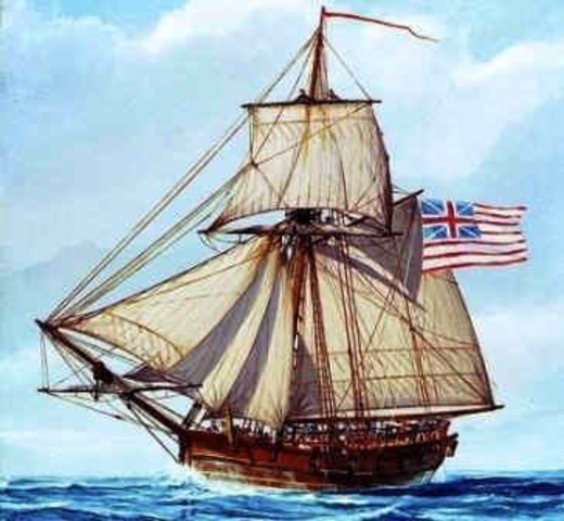 British Seize the Liberty