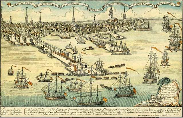 2000 Troops Stationed in Boston