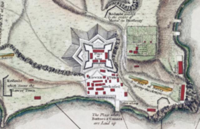 Allen and Arnold Capture Fort Ticonderoga