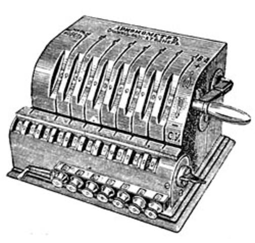 Арифмометр 1820 год