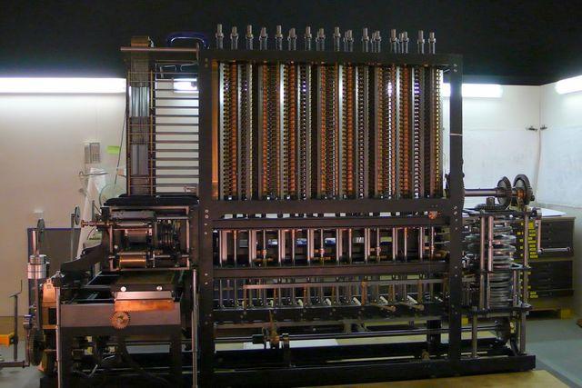 Аналитическая машина Бэббиджа. 1823 год
