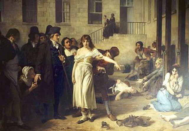 En el siglo XV se funda la primera institución (asilo u orfanato) para atender a enfermos psíquicos y deficientes mentales.