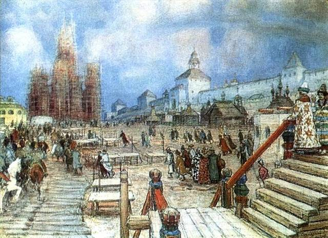 Средневеликорусский говор эпохи Московской Руси