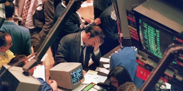 Черный понедельник 1987 года.
