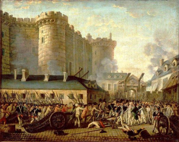Inicio de la Revalución Francesa