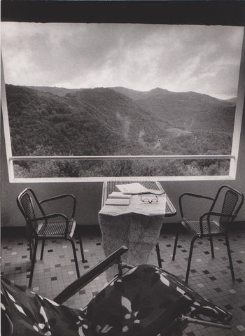 Willy Ronis - Vacances à Narjac (Aveyron), septembre 1976