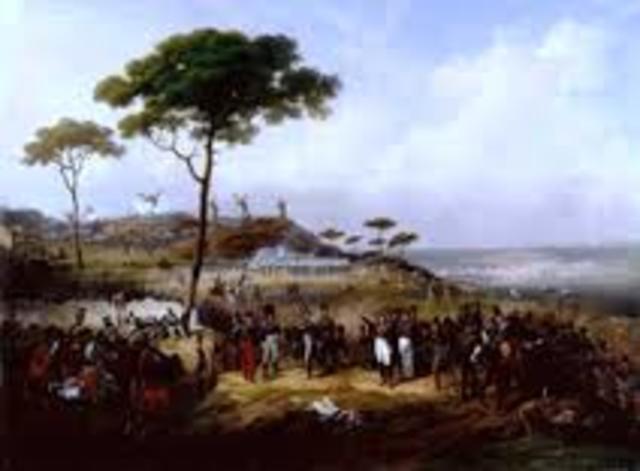 """Invasión de los """"Cien mil Hijos de San Luis""""."""