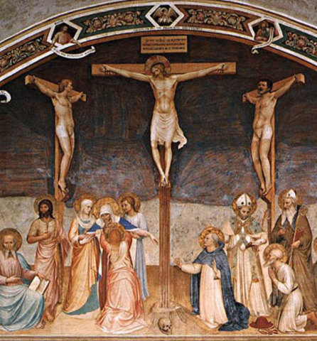 realizza affreschi per il convento di san Marco