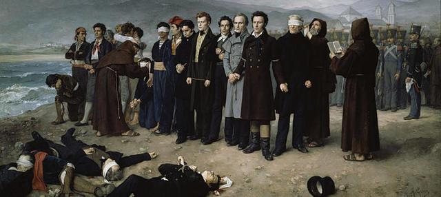 Fusilamiento de Torrijos.