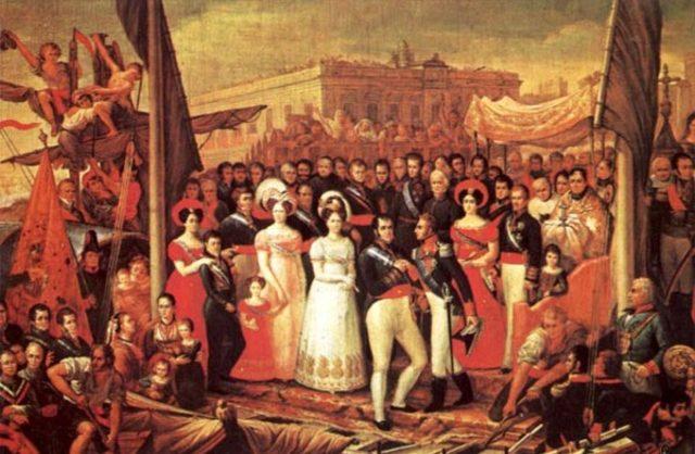 Fernando VII vuelve a España. Manifiesto de los persas