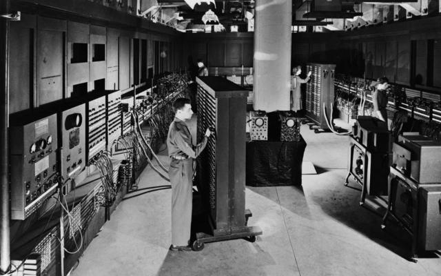 ENIAC  первый компьютер