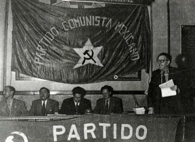 Partido Comunista Mexicano.