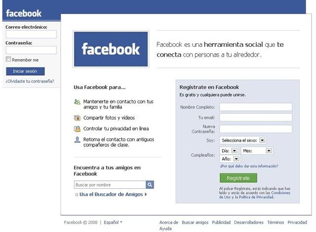 facebook como plataforma