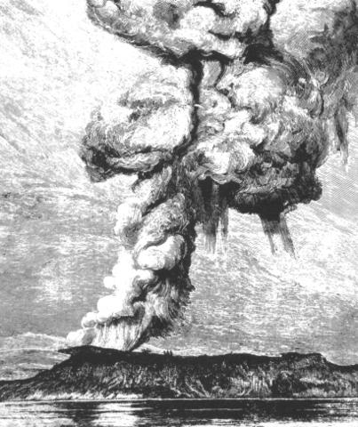 Krakatoa Eruptions(Java/Sumatra)