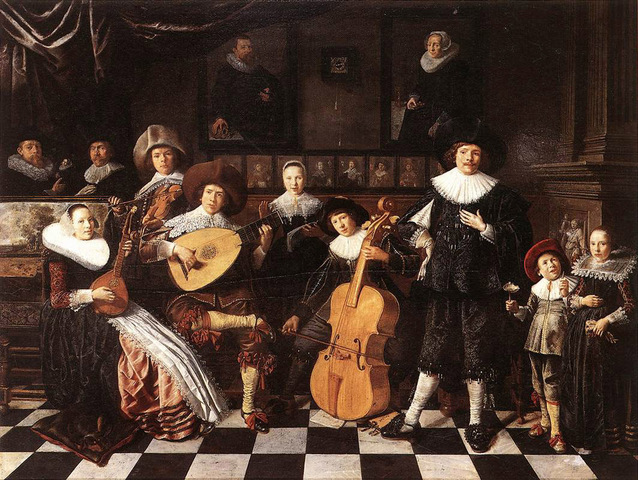 The Baroque Period in art and music