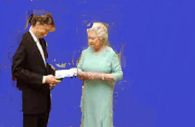 he meet the Queen of England