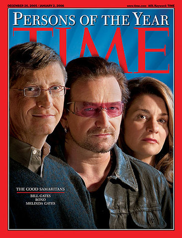 Bill Gates got person of the year on time magazine