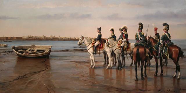 Entrada de las tropas francesas en la Península