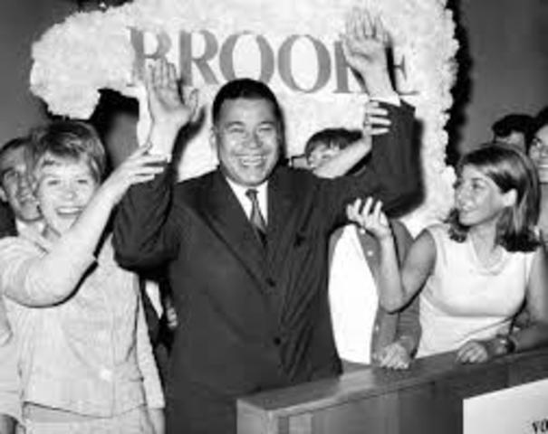 Edward W. Brooke Is Elected To The U.S. Senate