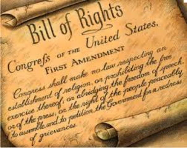 Constitutional Amendment Separated Church and State