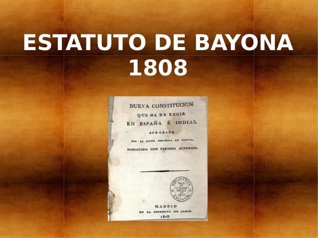 Constitució de Bayona