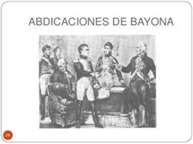 Abdicacones de Bayona