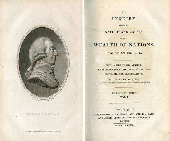 Adam Smith published  The Wealth of Nations