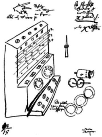 Томас де Кольмар запустил промышленный выпуск механического калькулятора после того, как он создал свой упрощённый арифмометр, который был первой счётной машиной достаточно прочной и надёжной для ежедневного использования служащими