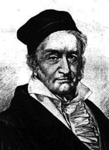 Иоганн Карл Фридрих Гаусс  (30.04.1777 — 23.02.1855)