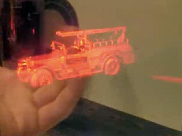 Изобретение голографии
