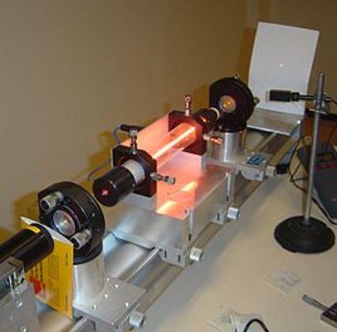 Изобретение лазера