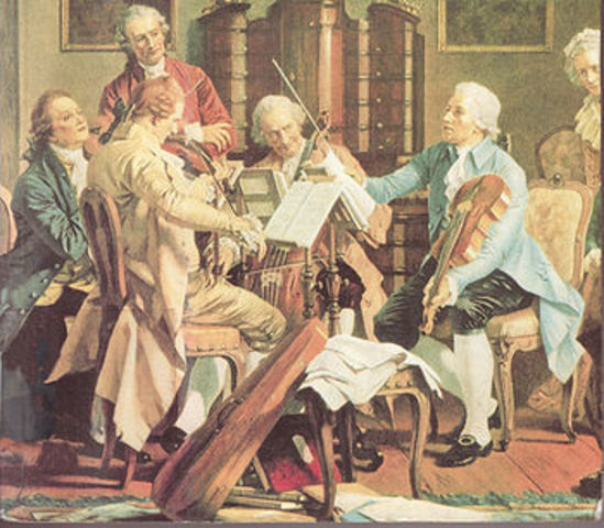 The Classical Period in art and music