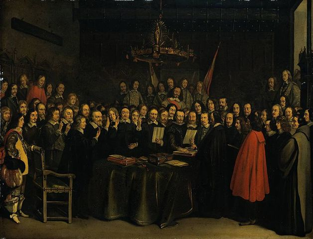 Peace of Westphalia ends the Thirty Years War