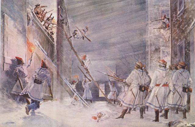 Richard Montgomery's Invasion of Québec