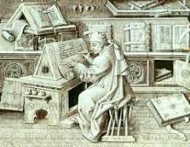 1401 DC.  Copistas, Indización y organización de documentos