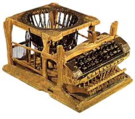 1869 La Máquina de escribir