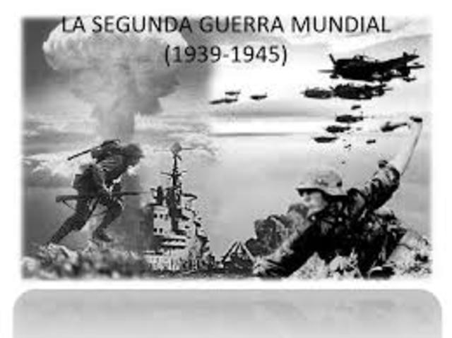 1939 Segunda guerra mundial