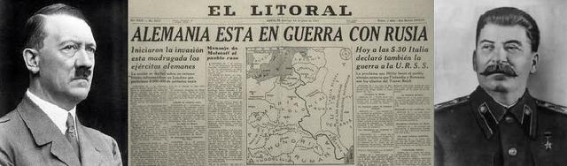 Alemania invade Unión Soviética.