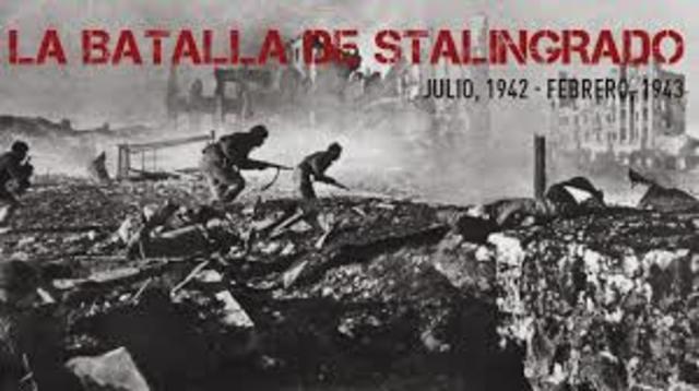Unión Soviética derrota a Alemania en la batalla de Stalingrado.