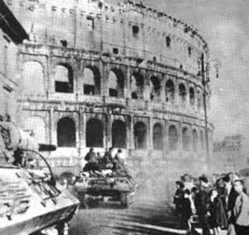 Los aliados invaden Italia.